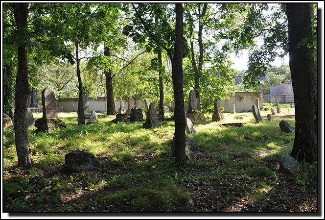 The Jewish cemetery of Dagda