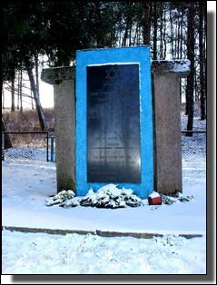 The Kelme Holocaust Memorial. Lithuania. Photo taken on November 28, 2010