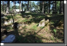The Jewish cemetery of Livani. Latvia. September 2009