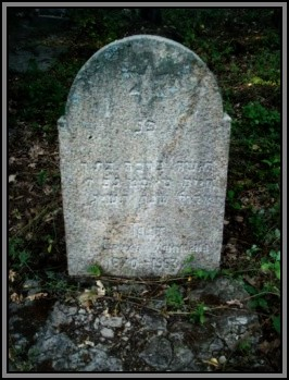 Tombstone in hebrew. Ternivka